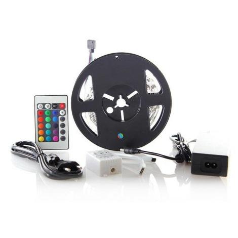 LED pásek s dálkovým ovladačem 7,2W/12V 3m