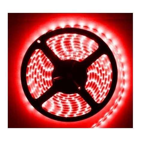 LED pásek vodotěsný 5m IP65 červená - GXLS011