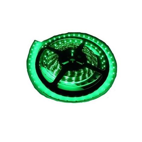 LED pásek vodotěsný 5m IP65 zelená - GXLS015