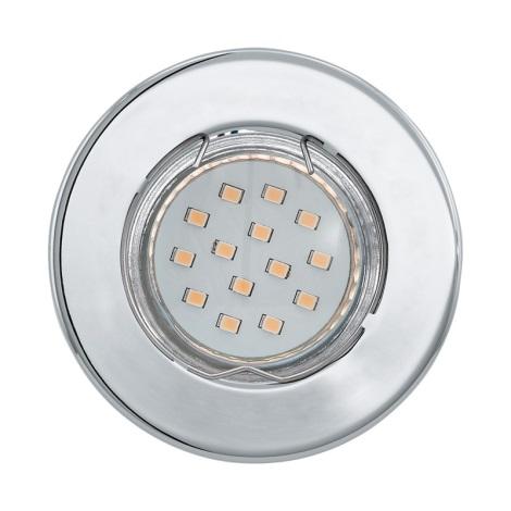 LED podhledové svítidlo IGOA 1xGU10/3W/230V chrom lesk