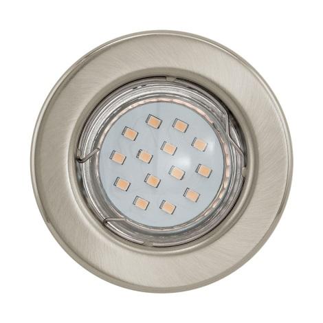 LED podhledové svítidlo IGOA 1xGU10/3W/230V chrom mat