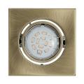 LED podhledové svítidlo IGOA 1xGU10/5W/230V bronz