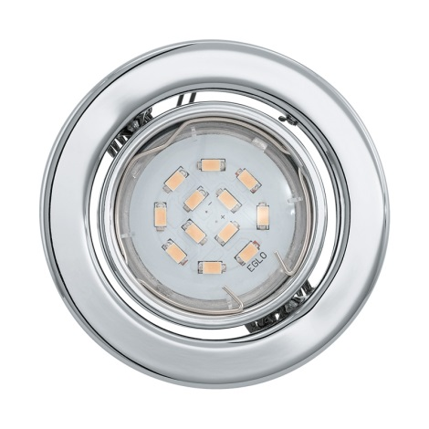 LED podhledové svítidlo IGOA 1xGU10/5W/230V chrom lesk
