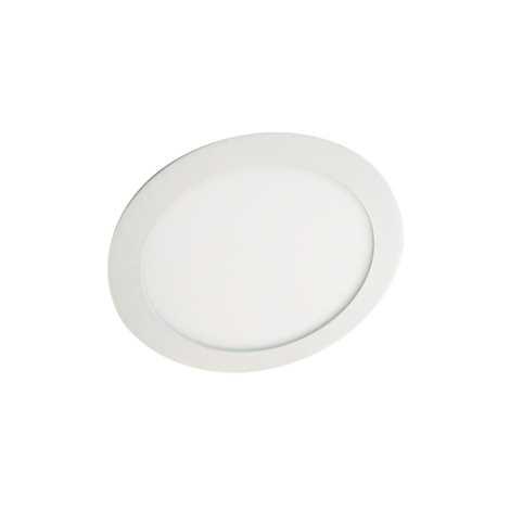 LED podhledové svítidlo LED60 VEGA-R Silver SMD/12W studená bílá - GXDW052