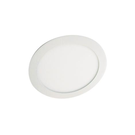 LED podhledové svítidlo LED60 VEGA-R Silver SMD/12W teplá bílá kulaté