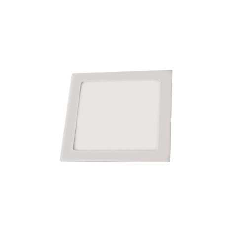 LED podhledové svítidlo LED60 VEGA-S Silver SMD/12W teplá bílá hranaté
