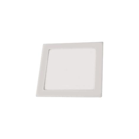 LED podhledové svítidlo LED90 VEGA-S Silver SMD/18W teplá bílá hranaté