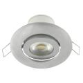 LED podhledové svítidlo náklopné LED/7W/230V stříbrná