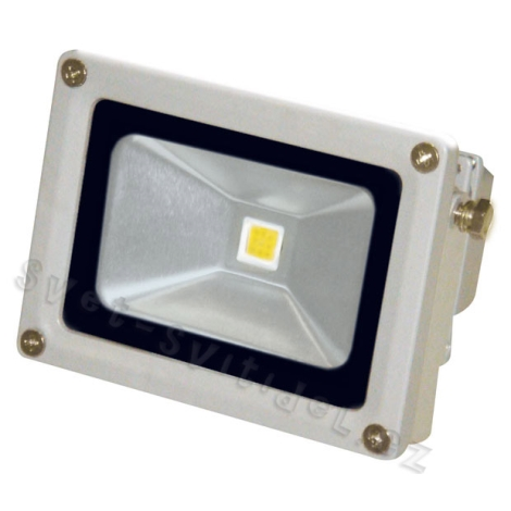 LED Reflektor HALO MCOB 10W studená bílá - GXLS025