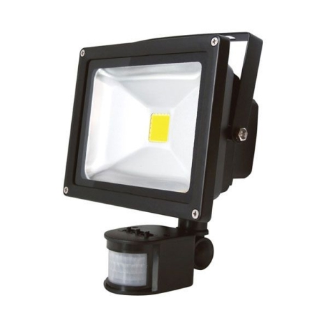 LED Reflektor s PIR čidlem T262 30W LED IP65