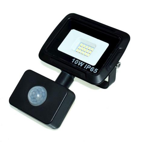 LED Reflektor se senzorem LED/10W/230V IP65 4500K
