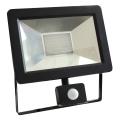 LED Reflektor se senzorem NOCTIS 2 SMD LED/30W/230V IP44 1950lm černá