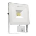 LED Reflektor se senzorem NOCTIS LUX SMD LED/10W/230V 900lm bílá IP44