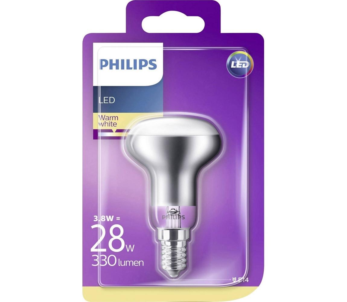 Philips LED Reflektorová žárovka Philips E14/3,8W/230V