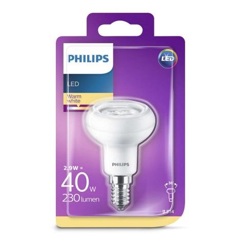 LED Reflektorová žárovka Philips R50 E14/2,9W/230V