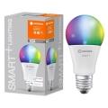 LED RGBW Stmívatelná žárovka SMART+ E27/14W/230V 2700K-6500K wi-fi - Ledvance