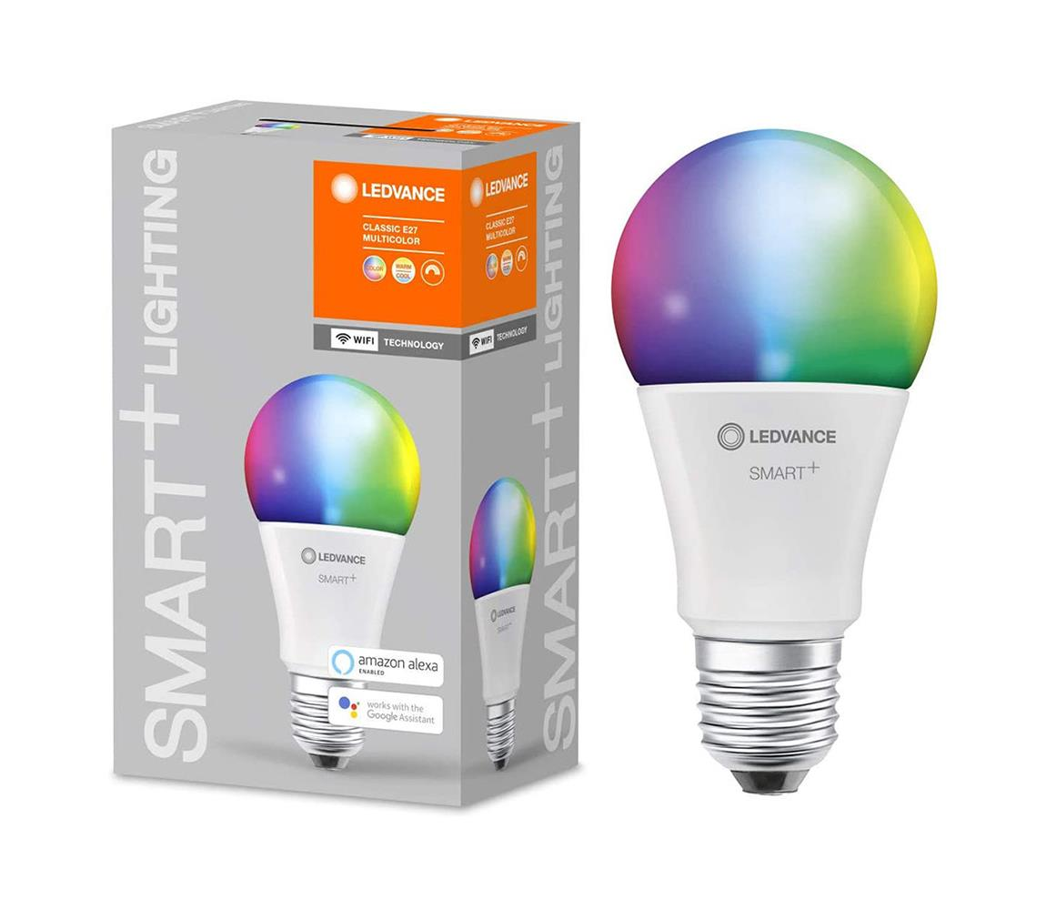 Ledvance LED RGBW Stmívatelná žárovka SMART+ E27/9W/230V 2700K