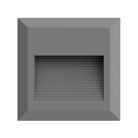LED Schodišťové svítidlo 1xLED/2W/230V 3000K IP65