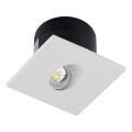 LED Schodišťové svítidlo 1xLED/3W/230V 4000K