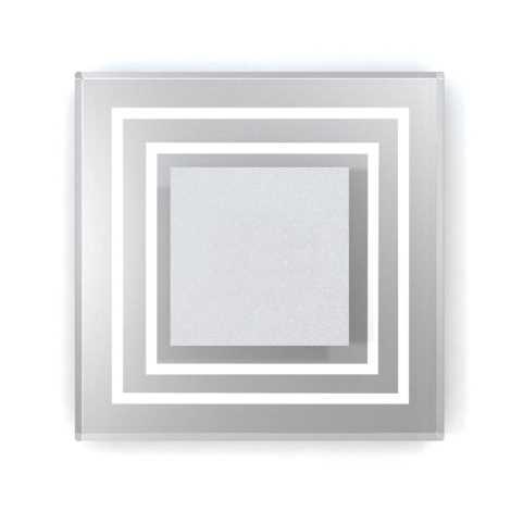 LED schodišťové svítidlo CRISTAL 01 6xLED/0,48W/12V nerez 4000K