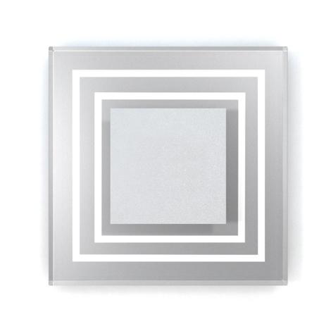 LED schodišťové svítidlo CRISTAL 01 6xLED/0,48W/12V nerez 6000K