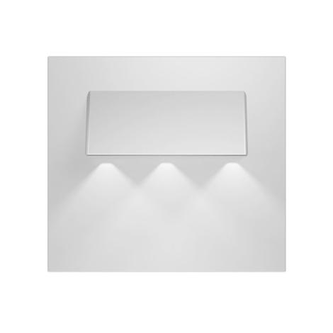 LED schodišťové svítidlo GAMA 3xLED/0,24W/12V hliník 3000K