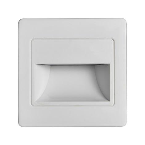 LED Schodišťové svítidlo se senzorem STEP LIGHT NET LED/1,5W/230V bílá