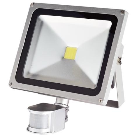 LED senzorový reflektor TOMI MCOB/30W - GXLS056 IP44