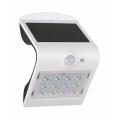 LED Solární nástěnné svítidlo se senzorem LED/2W IP65