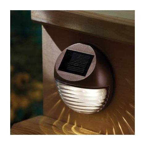LED Solární svítidlo 2xLED/0,12W/2xAA 6500 K IP44
