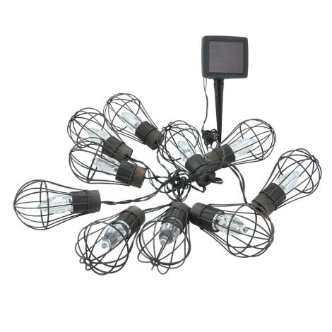 LED Solární venkovní řetěz 10xLED/1xAAA IP44