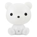 LED Stmívatelná dětská noční lampička 2,5W/230V medvídek bílá