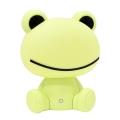LED Stmívatelná dětská noční lampička 2,5W/230V žába zelená