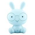 LED Stmívatelná dětská noční lampička LED/2,5W králík modrá
