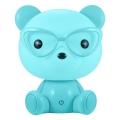 LED Stmívatelná dětská noční lampička LED/2,5W medvěd modrý