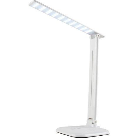 LED Stmívatelná dotyková stolní lampa JOWI LED/9W/230V bílá