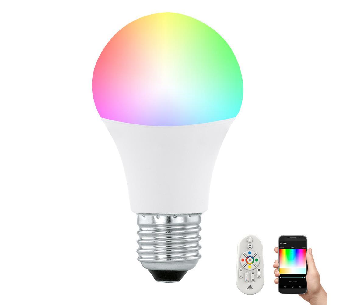 Eglo LED Stmívatelná žárovka CONNECT E27/9W + dálkové ovládání - Eglo 11585 EG11585