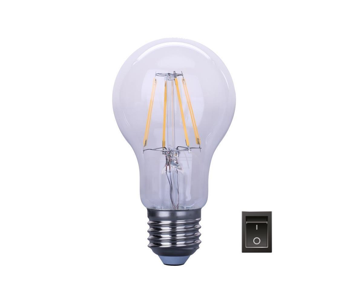 Immax LED Stmívatelná žárovka E27/6,5W/230V A60 IM0092
