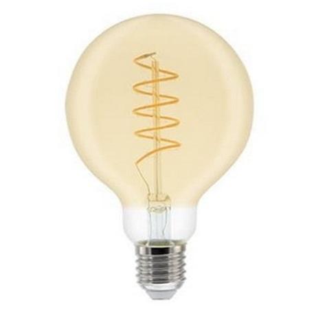 LED Stmívatelná žárovka G80 VINTAGE E27/5,5W/230V 2000K - GE Lighting