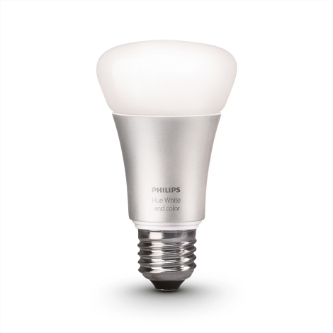 LED Stmívatelná žárovka HUE SINGLE BULB 1xE27/10W - Philips 8718696461655