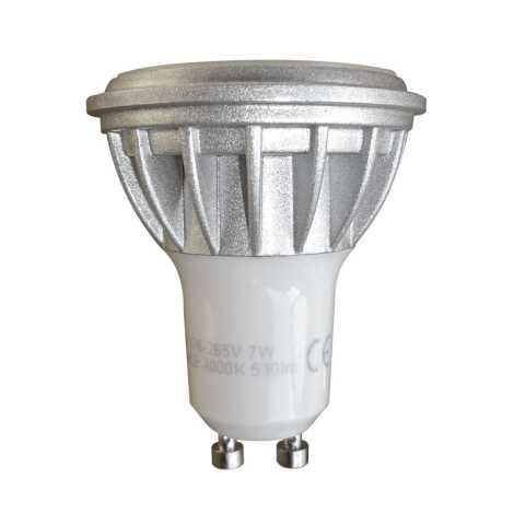 LED Stmívatelná žárovka Luxera 75207 - 1xGU10/7W/230V - 4000K