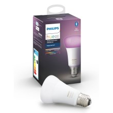 LED Stmívatelná žárovka Philips HUE WHITE AND COLOR AMBIANCE E27/9W/230V 2000-6500K