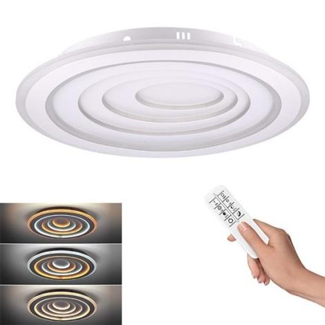LED Stmívatelné stropní svítidlo CASCADE LED/76W/230V + DO