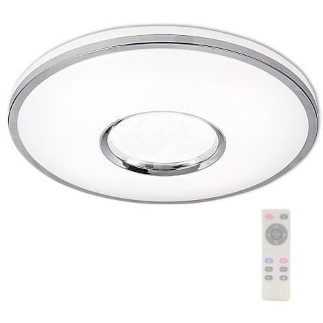 LED Stmívatelné stropní svítidlo LEON LED/24W/230V s dálkovým ovladačem