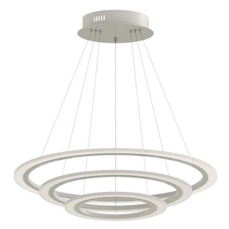 LED Stmívatelný lustr na lanku 3xLED/70W/230V