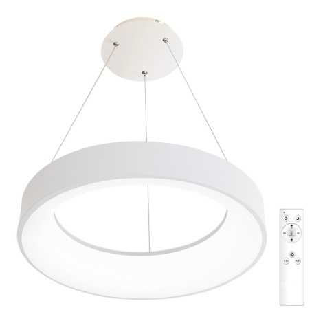 LED Stmívatelný lustr na lanku LED/40W/230V 3000-6500K bílá