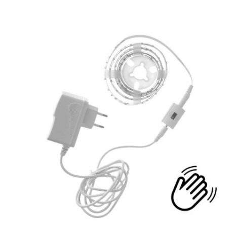 LED Stmívatelný pásek WAVE SENZOR 1,5m LED/9W/230V