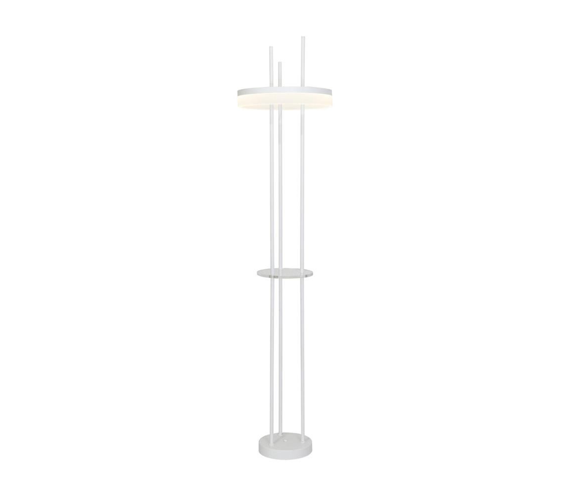 Milagro LED Stojací lampa RING LED/24W/230V