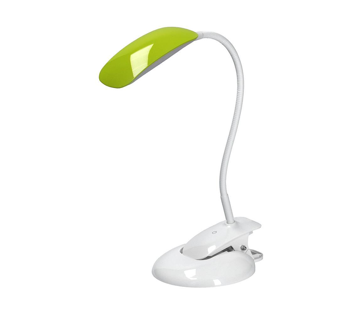 Solight LED stolní lampa stmívatelná podstavec i klip LED/5W/230V SL0033