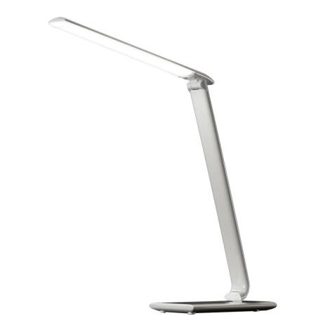 LED stolní lampa stmívatelná USB konektor LED/12W/230V bílá